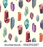 seamless pattern with colorful... | Shutterstock .eps vector #456593287