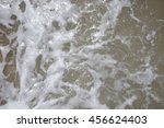 Small photo of Sputter and water surface of the sea
