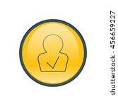 vector illustration of approved ... | Shutterstock .eps vector #456659227