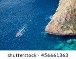 Maltese Seacoast Near The Blue...