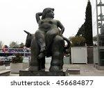 madrid  spain   april 6  2014   ... | Shutterstock . vector #456684877