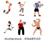vector illustration image of a... | Shutterstock .eps vector #456689143