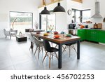 Modern Dining Room With Dining...