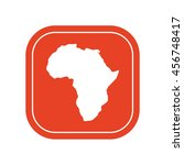 africa continent icon . vector... | Shutterstock .eps vector #456748417