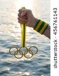 rio de janeiro   february 4 ... | Shutterstock . vector #456761143