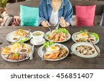 food and noodle | Shutterstock . vector #456851407