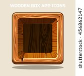 square wooden box app icons ...