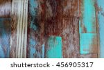 vintage wooden wall  | Shutterstock . vector #456905317