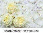 all of rose  stem  rose flowers'... | Shutterstock . vector #456908323