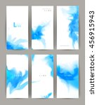 set of six modern banners.... | Shutterstock .eps vector #456915943