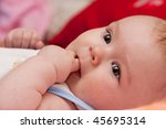 sweet baby girl | Shutterstock . vector #45695314