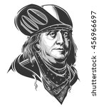 benjamin franklin   Shutterstock .eps vector #456966697