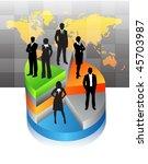 business people | Shutterstock .eps vector #45703987