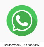 Green Button Icon Vector whats app Background, JPG, JPEG,EPS whatsapp Logo design Download