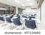 blur classroom education...   Shutterstock . vector #457124683