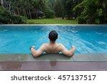 pool | Shutterstock . vector #457137517