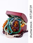 Box Full Of Colorful Necklaces...