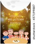 mid autumn festival | Shutterstock .eps vector #457199887