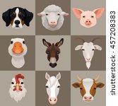 Vector Domestic Farm Animals...