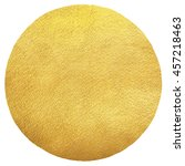 gold round background with... | Shutterstock . vector #457218463