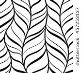 striped abstract. swirl design  ... | Shutterstock .eps vector #457253137