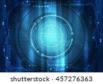 vector digital technology... | Shutterstock .eps vector #457276363