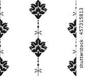 seamless pattern eastern style | Shutterstock .eps vector #457315813
