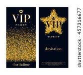 vip party premium invitation...   Shutterstock .eps vector #457316677