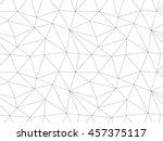 geometric seamless pattern.... | Shutterstock .eps vector #457375117