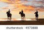 horseriders   vector version... | Shutterstock . vector #4573888