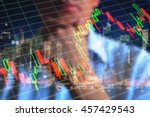 Volatile Market Graph. Trader ...