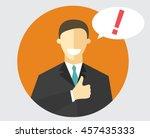 flat design sign. best choice....   Shutterstock .eps vector #457435333