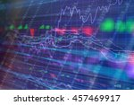 Small photo of Business company financial balance, stock Quotes at real time at the stock exchange