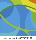 abstract lines  background.... | Shutterstock .eps vector #457479157