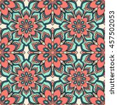 Seamless Pattern. Decorative...