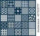 graphic vintage textures... | Shutterstock . vector #457525777