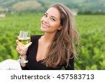 outdoors portrait of a... | Shutterstock . vector #457583713