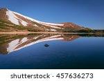 Mountain Lake. Spring Landscap...