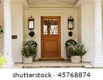 door | Shutterstock . vector #45768874