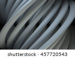 3d rendering abstract twist... | Shutterstock . vector #457720543