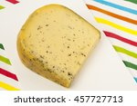 Piece Of Dutch Cheese With...