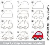 easy educational kid game.... | Shutterstock .eps vector #457736347