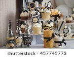 stylish candy bar for children... | Shutterstock . vector #457745773