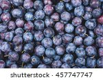 plums background | Shutterstock . vector #457747747