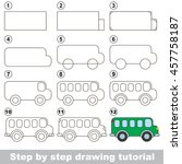 easy educational kid game.... | Shutterstock .eps vector #457758187
