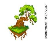 isometric tree.vector...