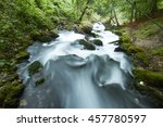 fast flowing rivers in the... | Shutterstock . vector #457780597