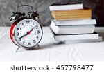 Alarm Clock Time To Read Books...