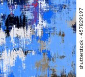 colored grunge street wall... | Shutterstock . vector #457829197