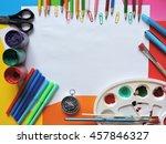 back to school .college | Shutterstock . vector #457846327